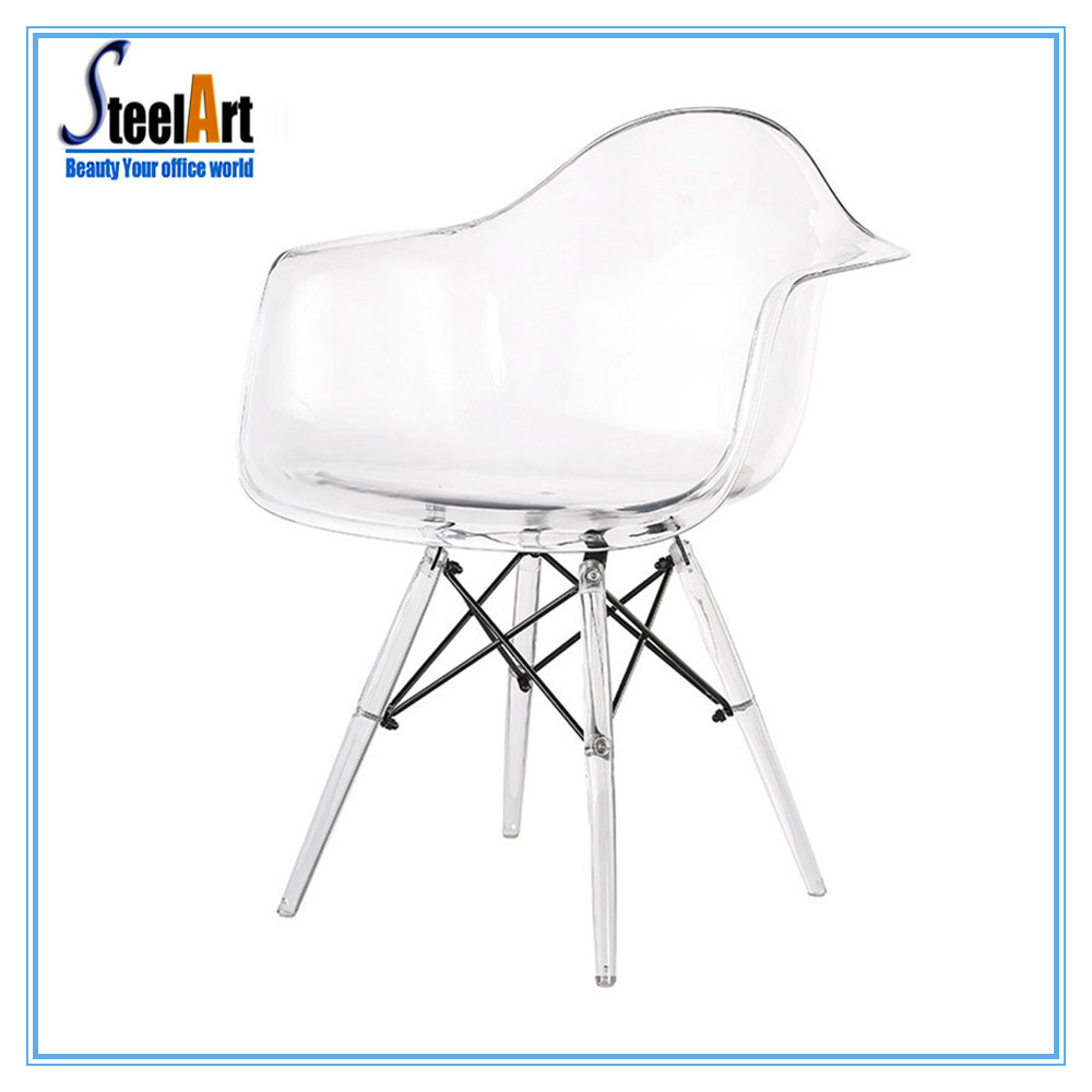 Plastic Clear Chair Hot Item New Design Plastic Clear Eames Lounge Chair
