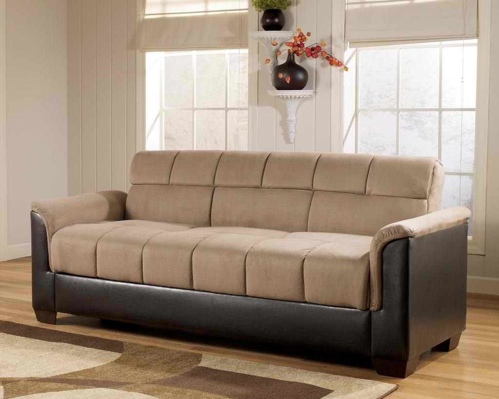 material and leather sofa travel trailer bed home decorating pictures fabric