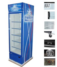China Glass Door Beverage Cooler - China Display Fridge ...