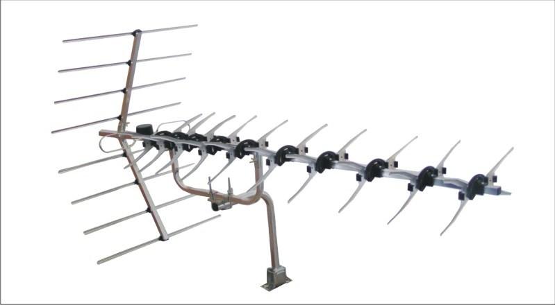 China Foldable Triplex Digital Outdoor Yagi TV Antenna (HD