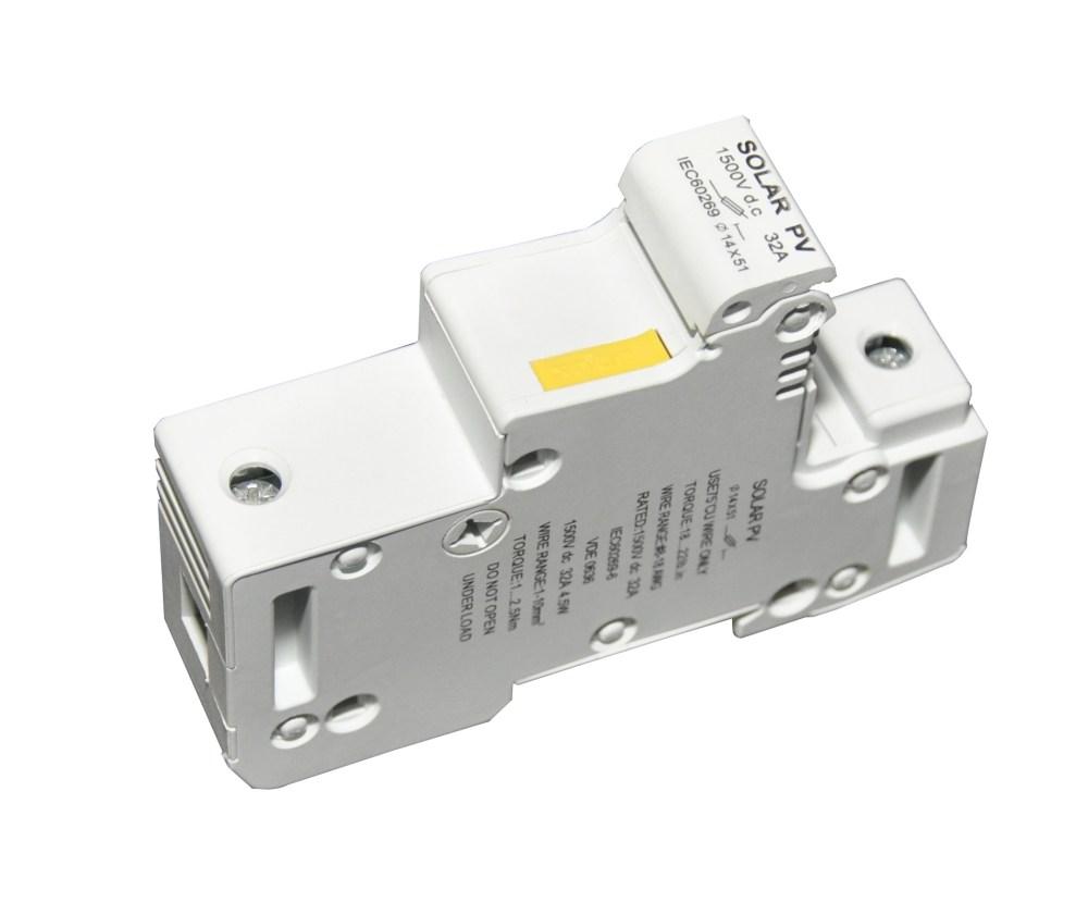 medium resolution of 1500vdc fuse holder dc fuse block for pv combiner box parts