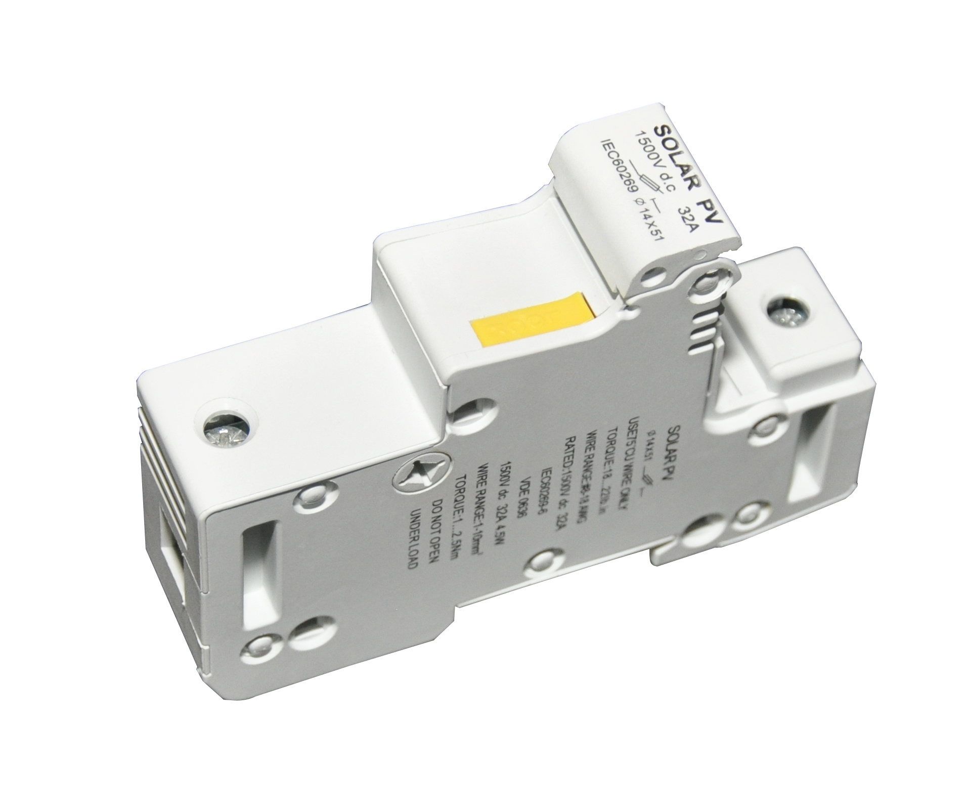 hight resolution of 1500vdc fuse holder dc fuse block for pv combiner box parts