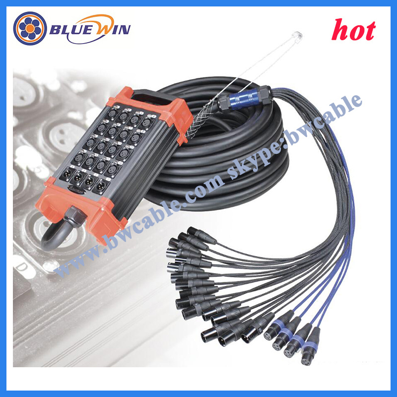 China Snake Cable with Stage Box Multicore Audio Wire  China AV Cable Audio Video Cable