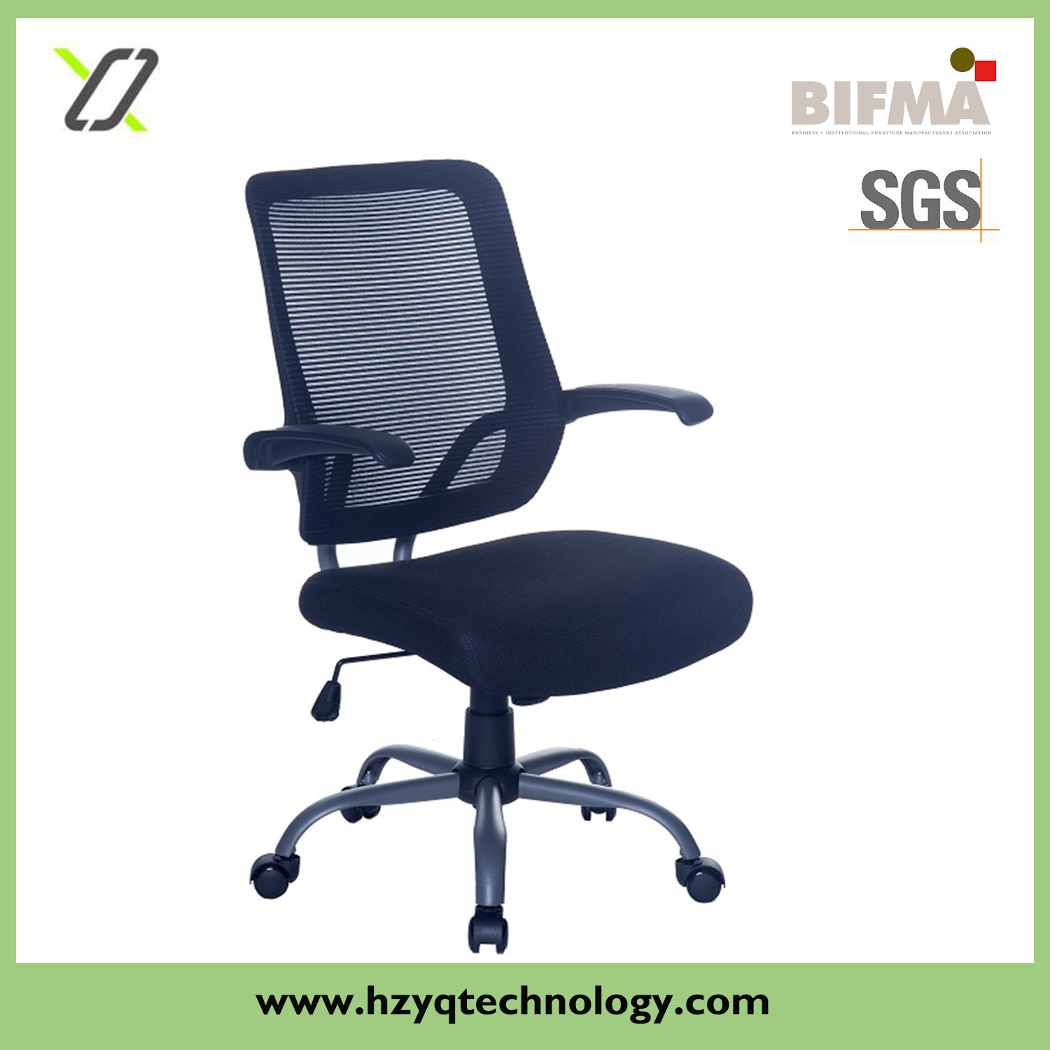 Foldable Office Chair Hot Item Foldable Armrest Comfortable Executive Swivel Office Chair