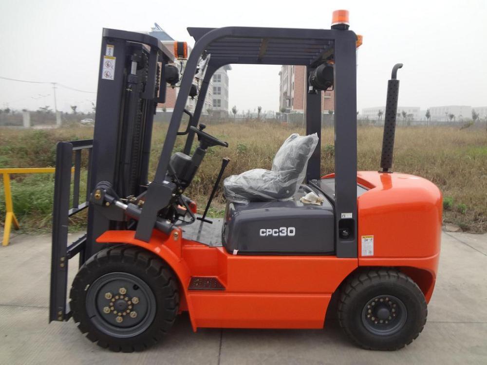 medium resolution of china 3ton forklift diesel forklift forklift truck manual transmission 3m 2stages mast
