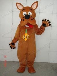 China Scooby Doo Dog Mascot Costume