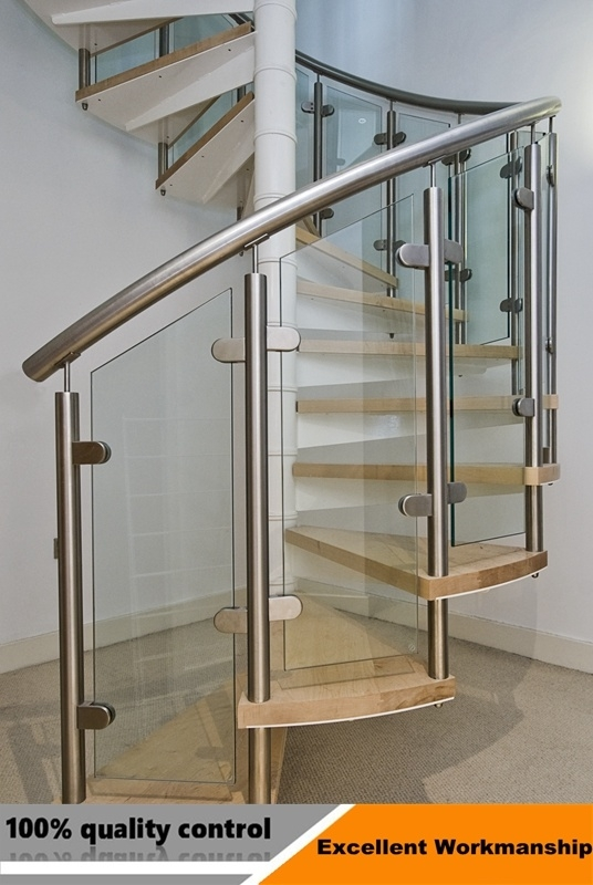 China Modern Indoor Prefabricated Glass Spiral Stairs Price | Glass For Stairs Price | Laminated Glass | Stairwell | Glazed | Outdoor | Toughened
