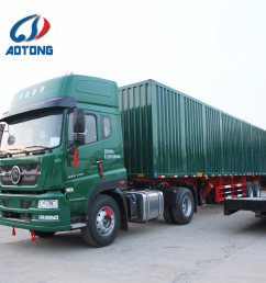 china manufacture 2 axle dry van type box cargo semi trailer china truck trailer semi trailer [ 1000 x 1000 Pixel ]