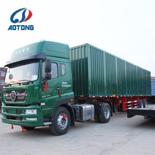 small resolution of china manufacture 2 axle dry van type box cargo semi trailer china truck trailer semi trailer