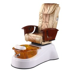 Massage Pedicure Chair Off White Accent China Nail Beauty Salon Manicure Station Spa Equipment