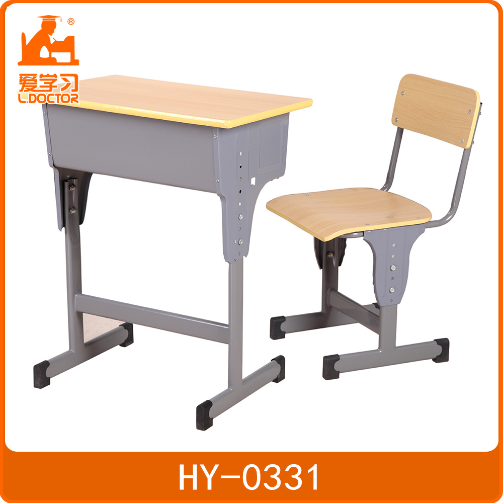 Desk And Chair Set Hot Item Adjustable Single School Desk And Chair Set Primary Middle School Adjustable Tables And Chairs China Manufacture Table Chair