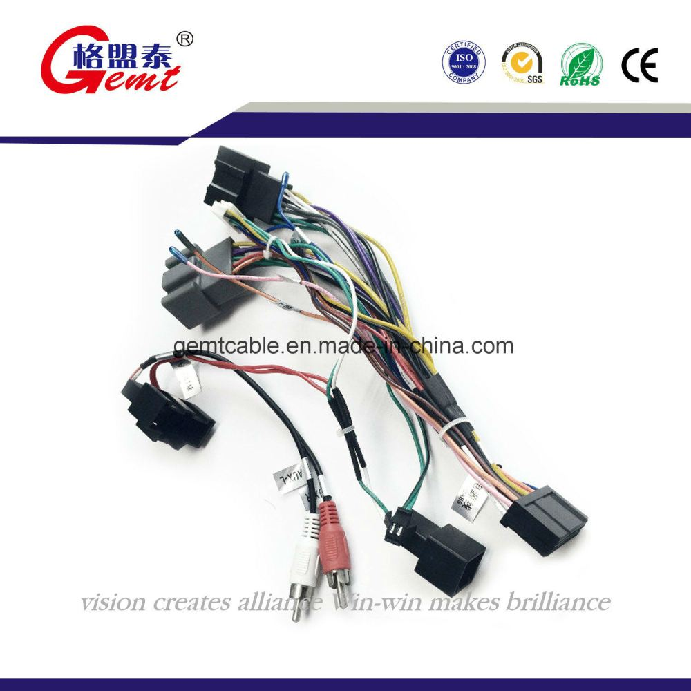 medium resolution of china high quality custom vw audi bmw stereo radio automotive wire harness china wire harness wiring harness
