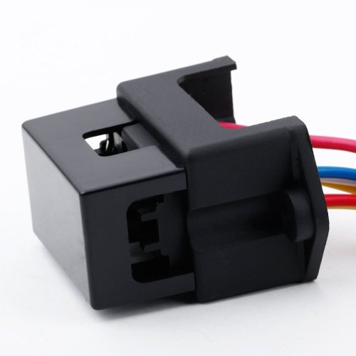 small resolution of 4 way dc32v circuit car trailer auto blade fuse box block holder inline atc ato 2 input 4 ouput wire for bus ship tanker trailer car coat