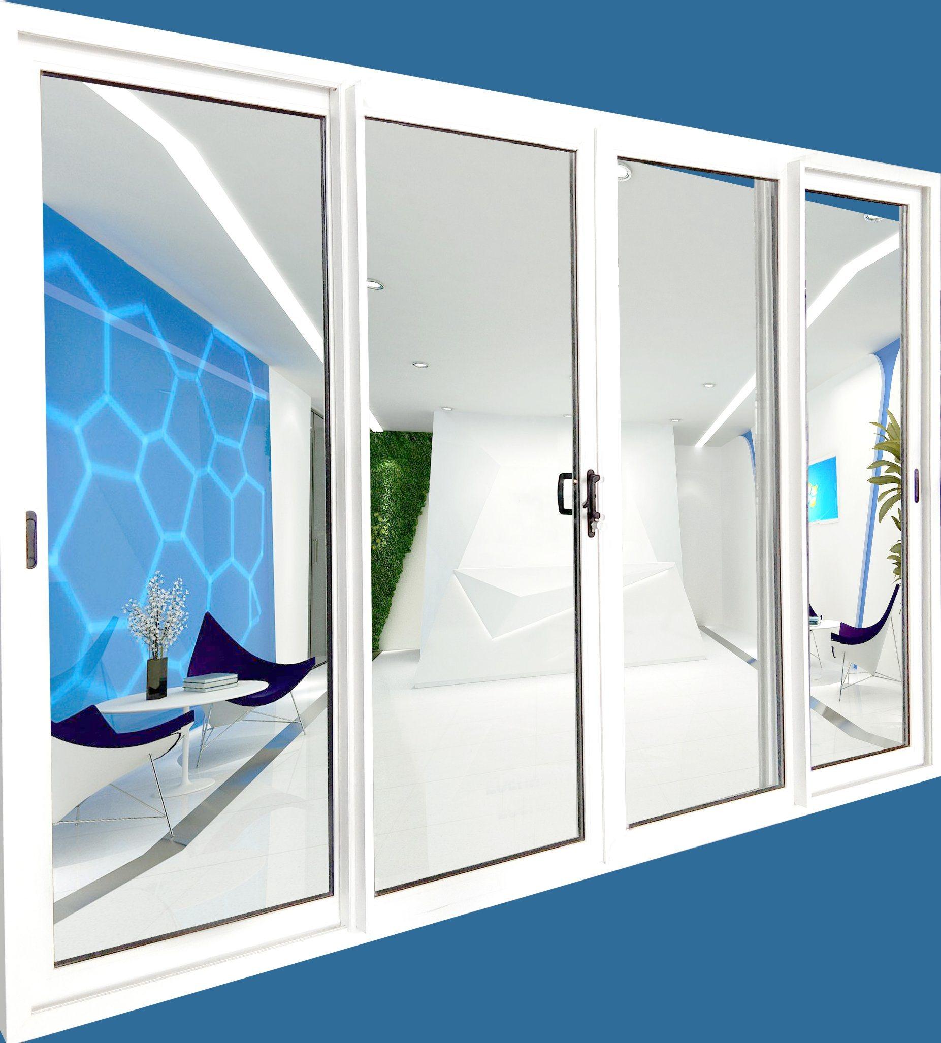 china door window plastic inserts air