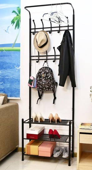 hot item entryway garment rack coat hanger shoe rack