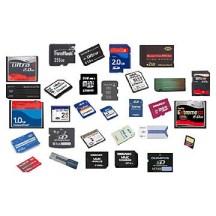Diverse soorten geheugenkaarten
