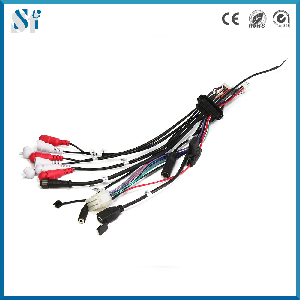 medium resolution of china custom signal wiring connector audio wire harness china audio wire harness custom wire harness