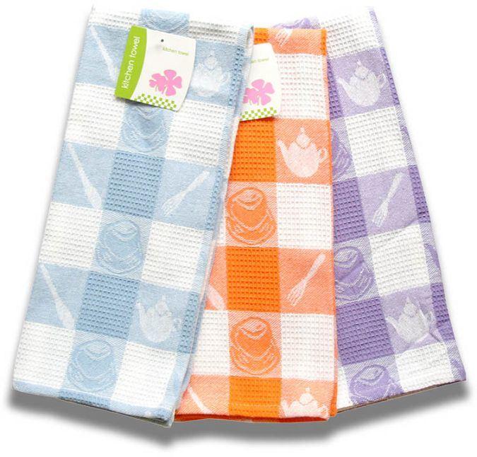 China Jacquard Kitchen Towel Wca01 Tea