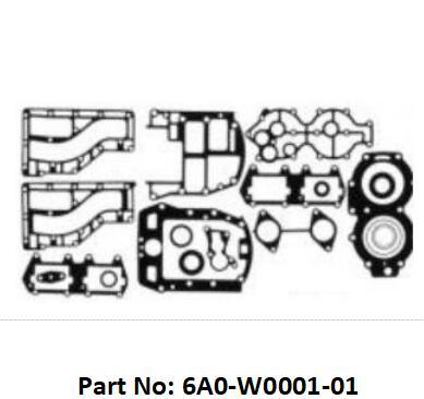 China 40d 2 Stroke Outboard Gasket Kit 6A0-W0001-01 for