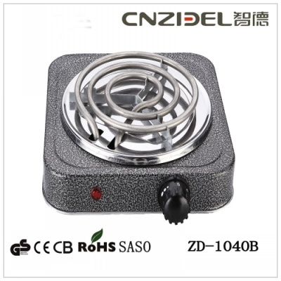 China Coil Single Hotplate Burner Stove/Spiral Hotplate