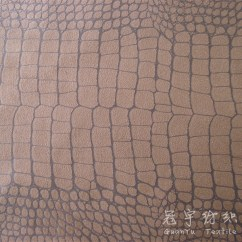 Suede Sofa Fabric Striped Decorating Ideas China Typed Crocodile Pattern