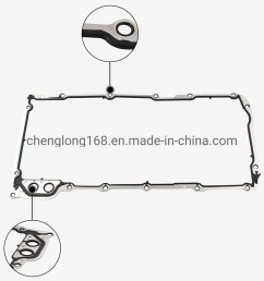 china gmc chevrolet pontiac 5 3 5 7 6 0 ls1 ls2 ls3 lm7 lq4 12612350 auto oil pan gasket china gasket car parts [ 1000 x 1000 Pixel ]