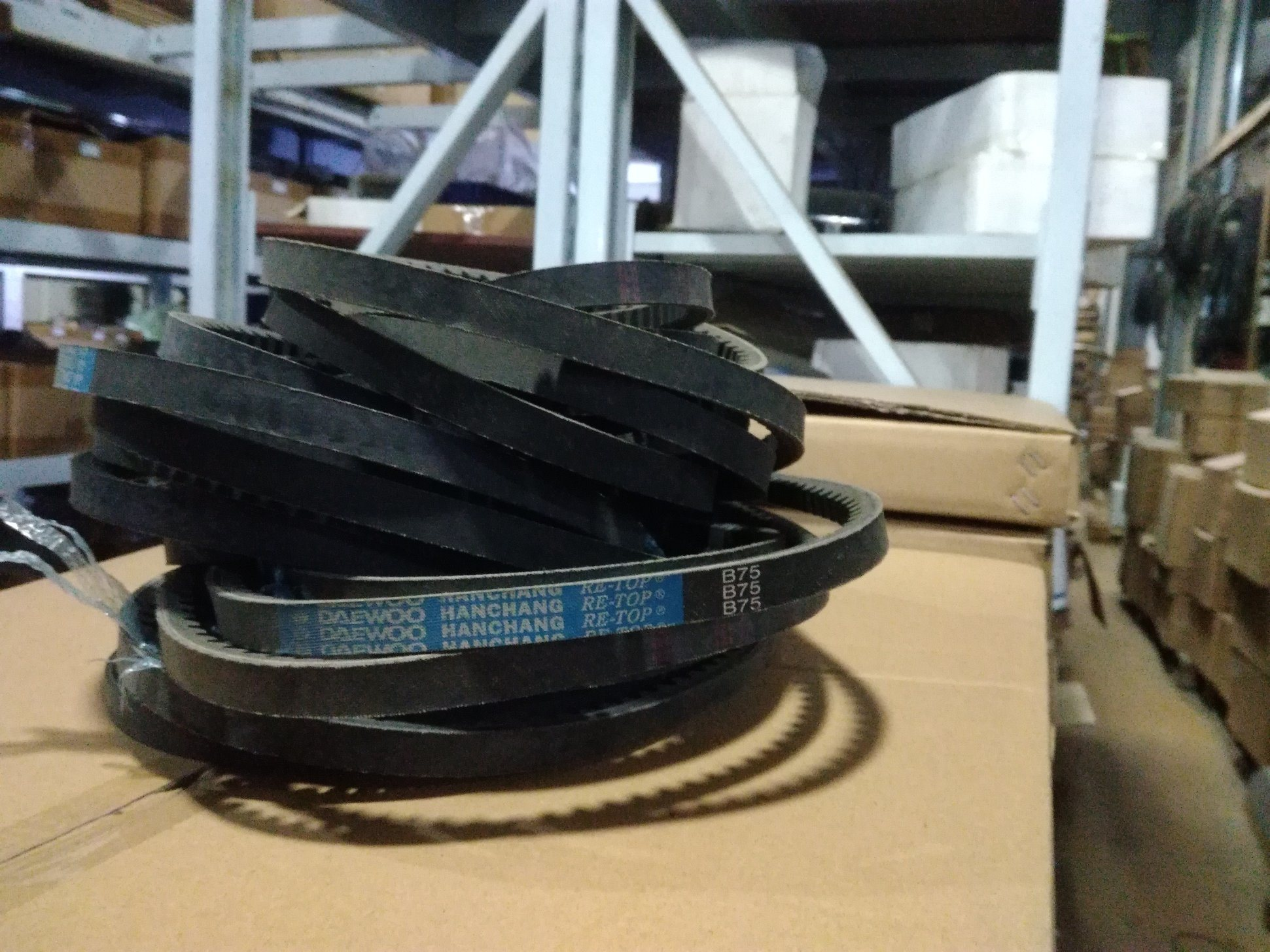 hight resolution of belt for daewoo bus parts b75
