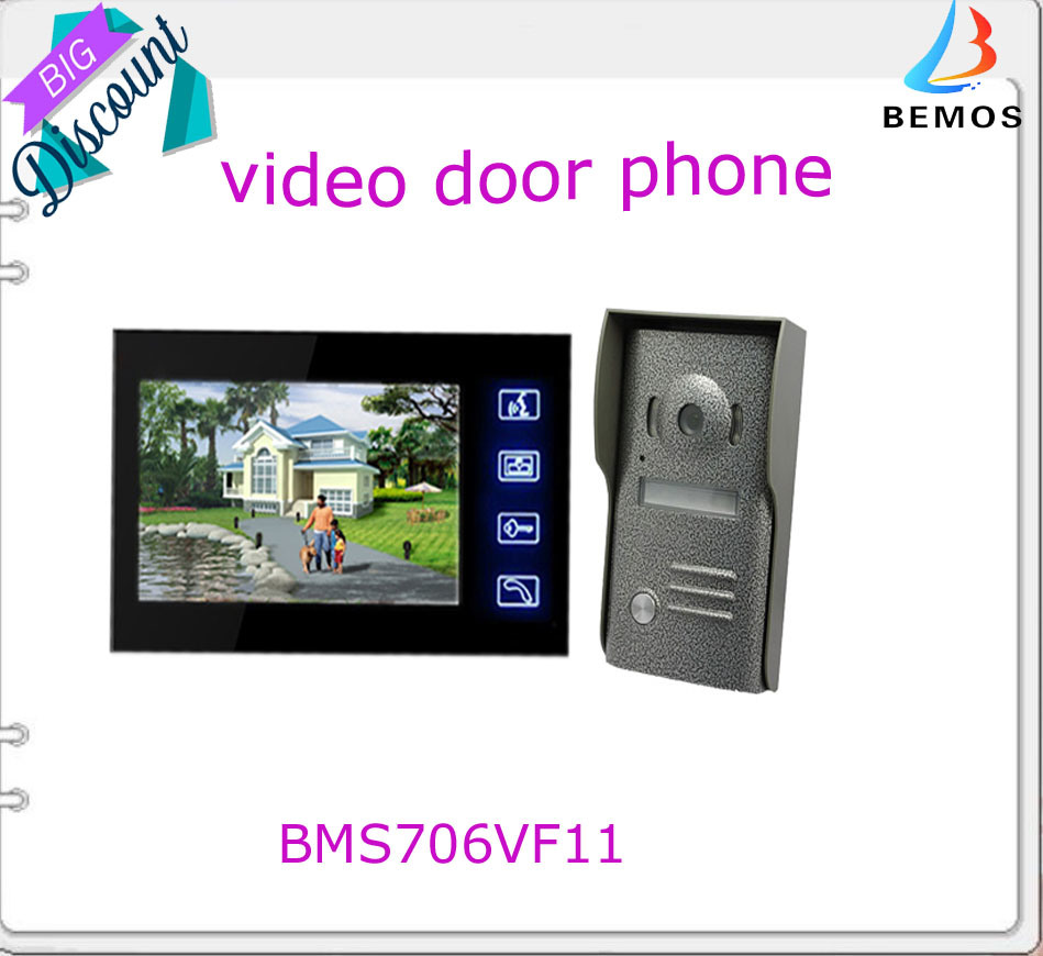 medium resolution of china 4 wires durable video doorbell for house safety china intercom system video door phone