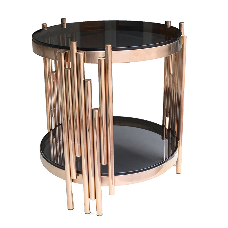 china black tempered glass coffee table