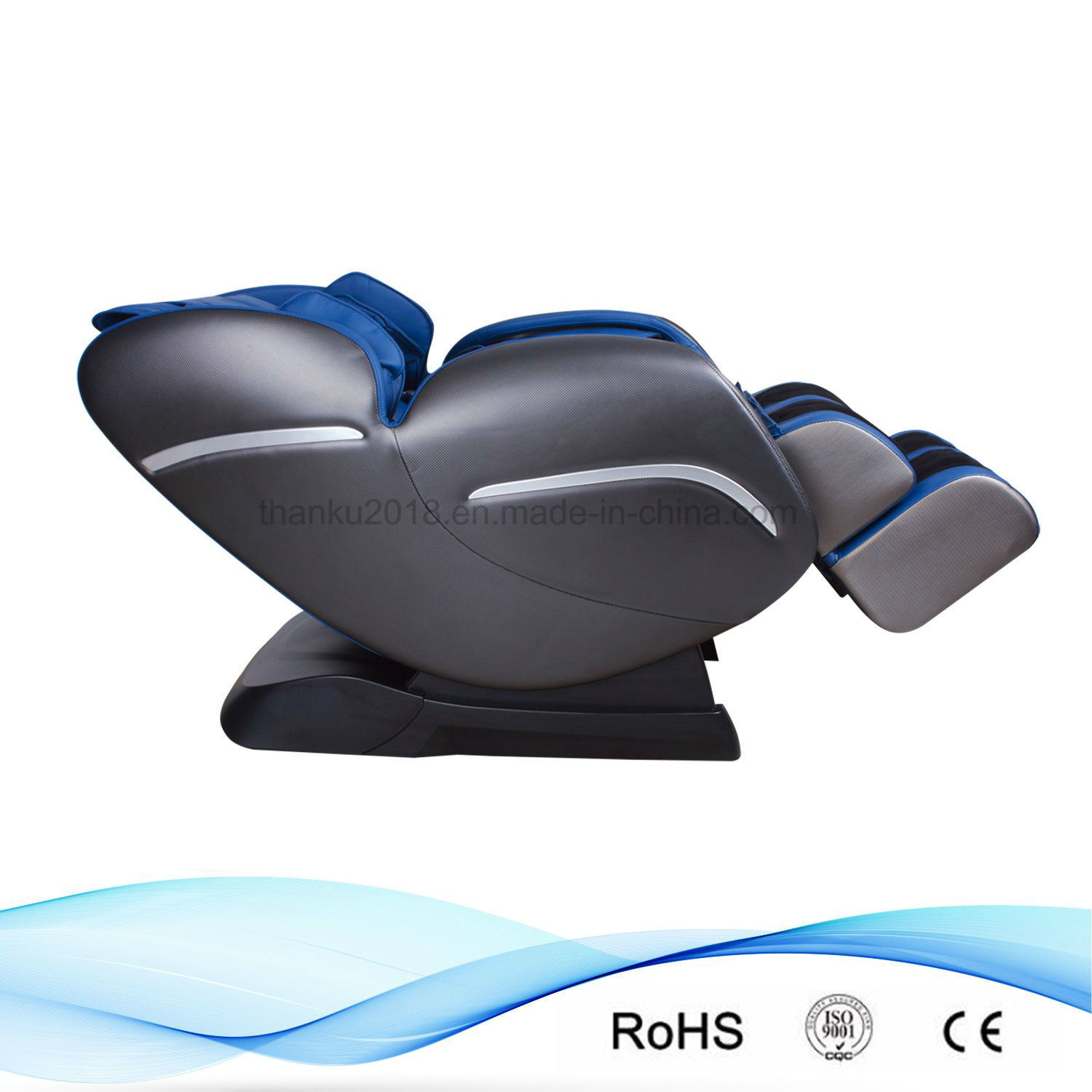 Office Chair Massager Hot Item L Shape Track Music Whole Body Airbag Massage Chair For Office