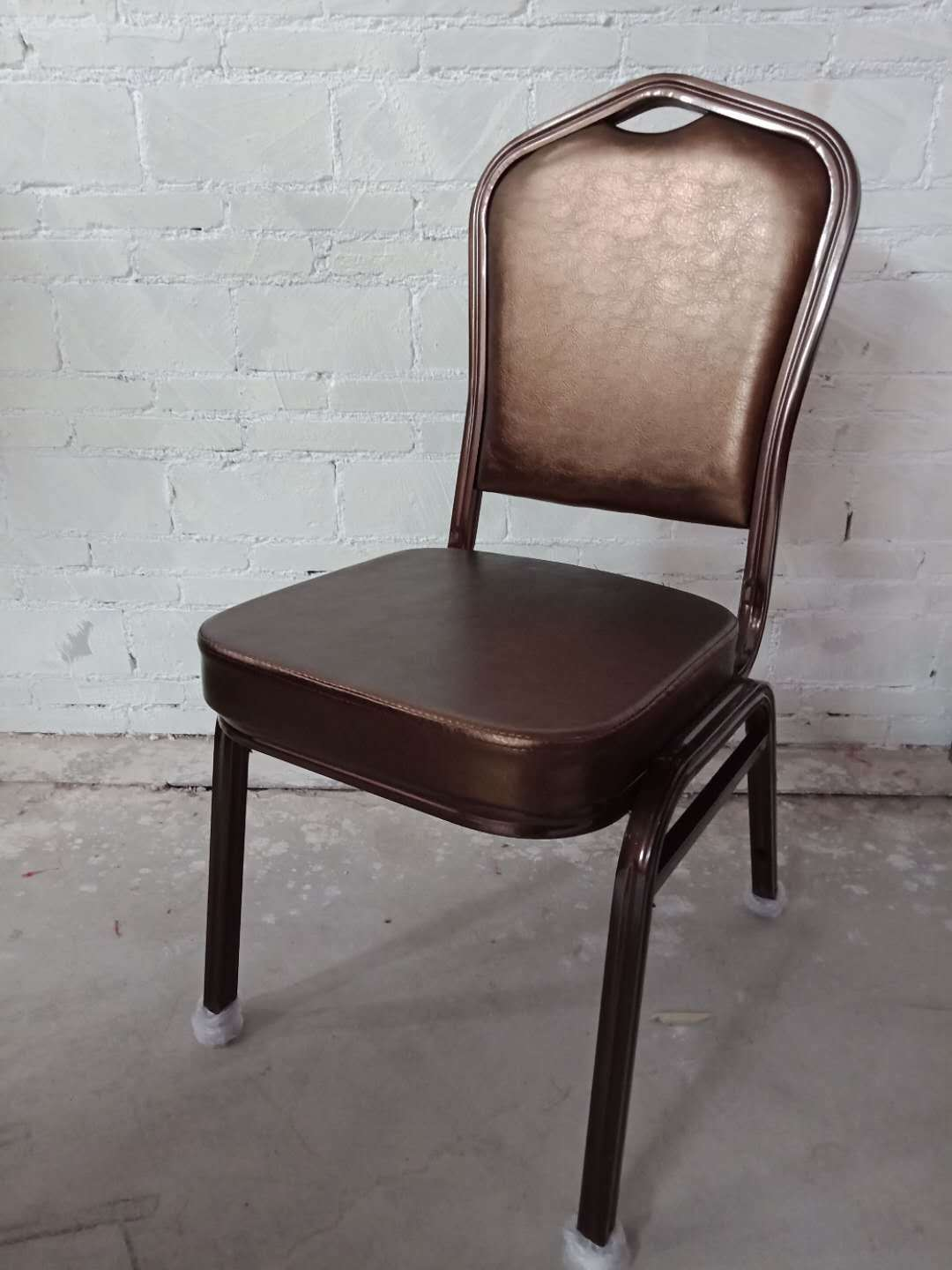 Hot Item Fancy Dining Room Iron Banquet Hall Furniture Used For Stacking Banquet Chairs