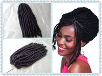 China 100%Super Kanekalon Fiber Marley Braid Hair ...