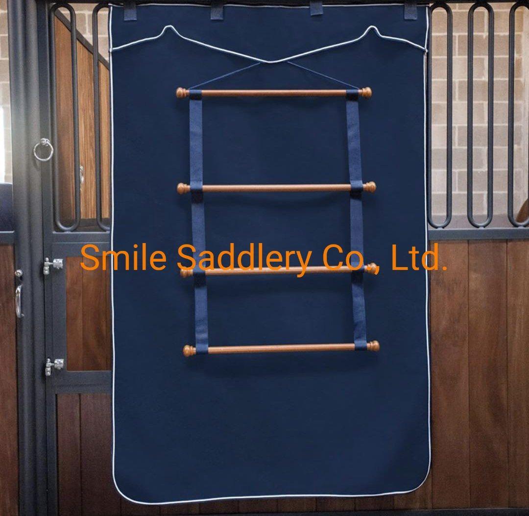hanging horse blanket saddle pad holder