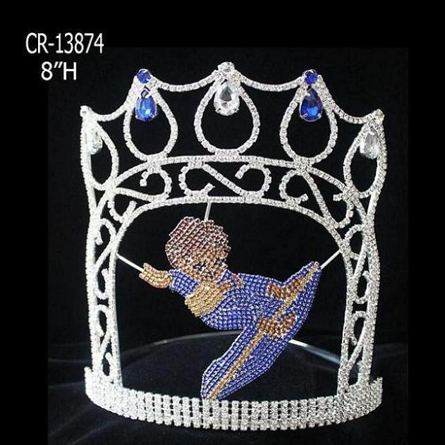 china rhinestone pageant crown