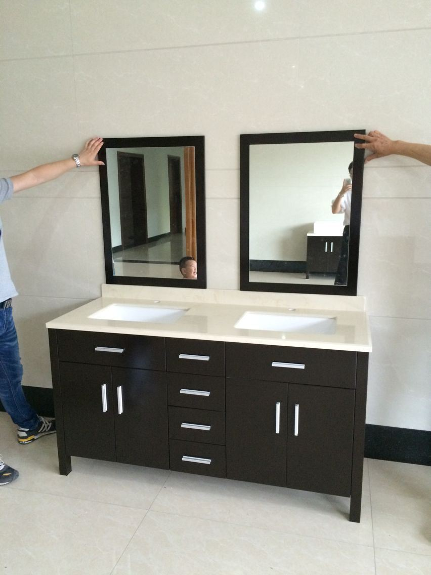 48 Bathroom Vanity Cabinet Hot Item 48 Inch Factory Whole Sale Cheap Floor Standing Bathroom Vanity Cabinets
