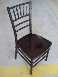 Mahogany Plastic/Resin Tiffany Chair (BRC)