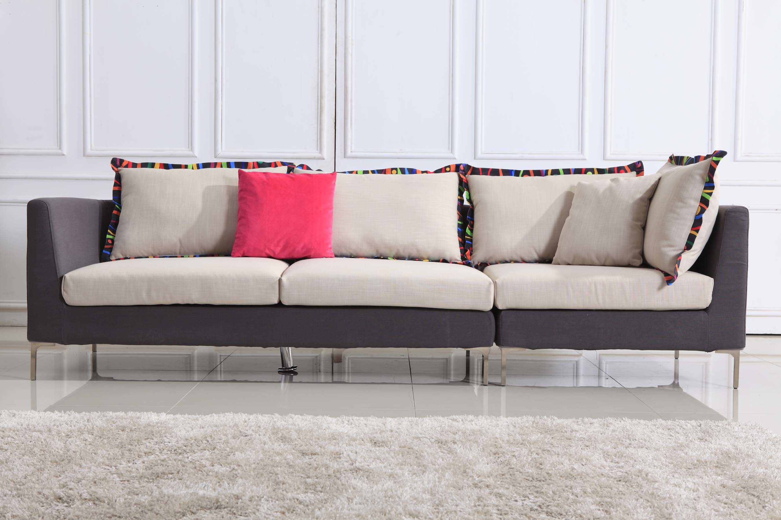 china sofa fabric billig chaiselong chaise lounge leather s8285 photos and pictures