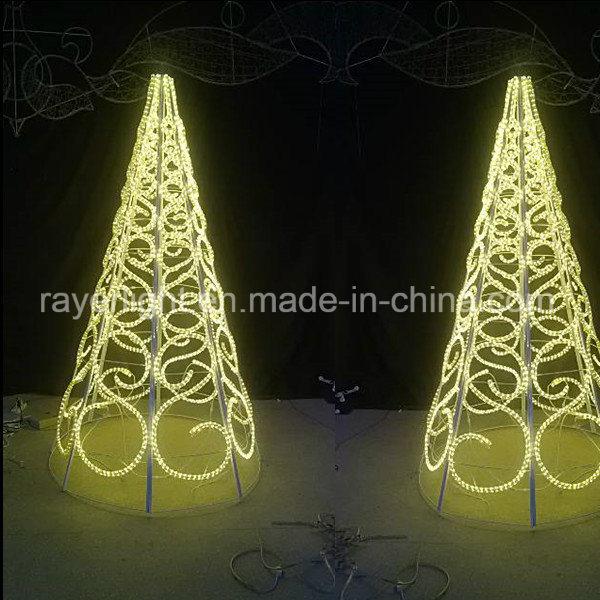 Rope Light Christmas Decorations