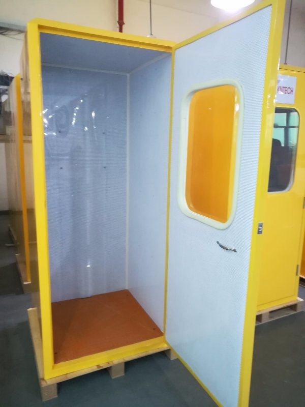 Vandal Proof Acoustic Phone Hood Soundproof Booth - Year of