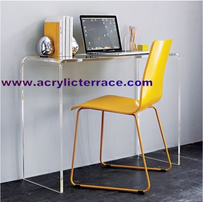 China Acrylic Writing Desk 5WD160007  China Acrylic