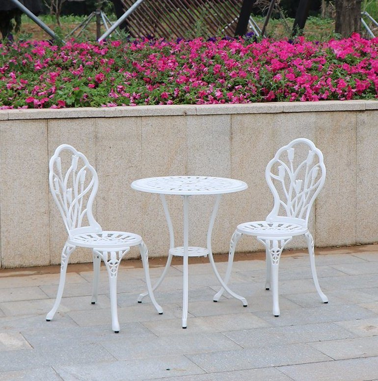 china cast aluminum patio park garden