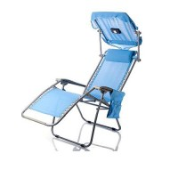 China Foldable Zero Gravity Beach Chair with Luxury Canopy