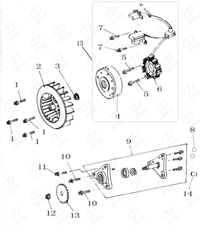Gy6 150cc Engine Parts Diagram, Gy6, Free Engine Image For
