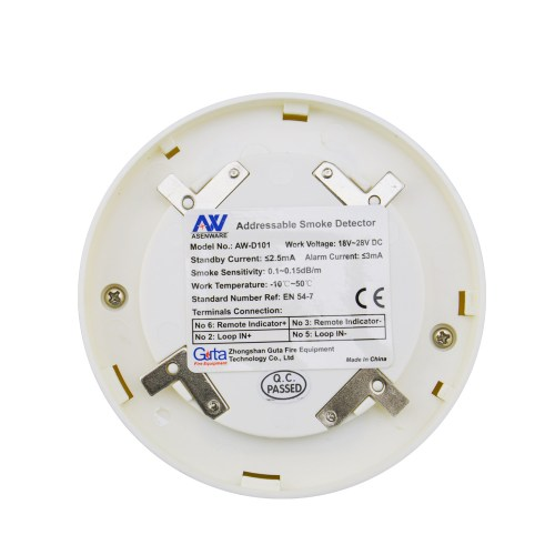 small resolution of addressable smoke detector can be addressed individually fire alarm