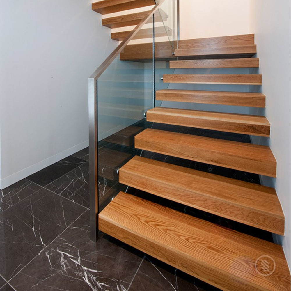 China High Quality Red Oak Staircase Pedal Solid Red Oak Staircase   Red Oak Stair Risers   Stair Tread   Stair Parts   Flooring   Stain   Modern Retro
