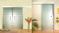 Uye Home: Sliding Glass Internal Doors