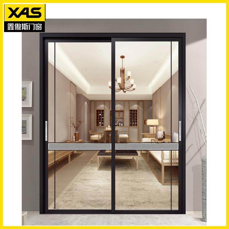 soundproof sliding door aluminium frame