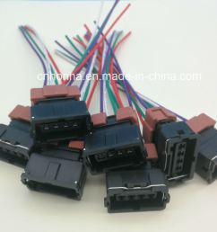 china 4 pin female toyota pbt connector wire harness for denso china cable wire wire harness [ 1499 x 1337 Pixel ]
