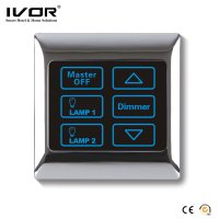 China Ivor Touch Screen Light Switch with Dimmer Switch ...
