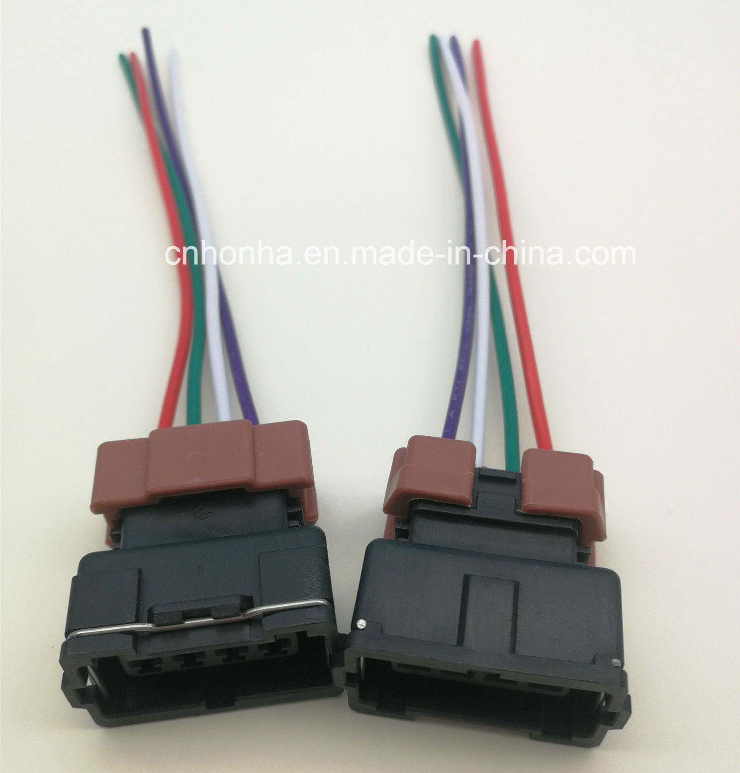 hight resolution of 4 pin female toyota pbt connector wire harness for denso